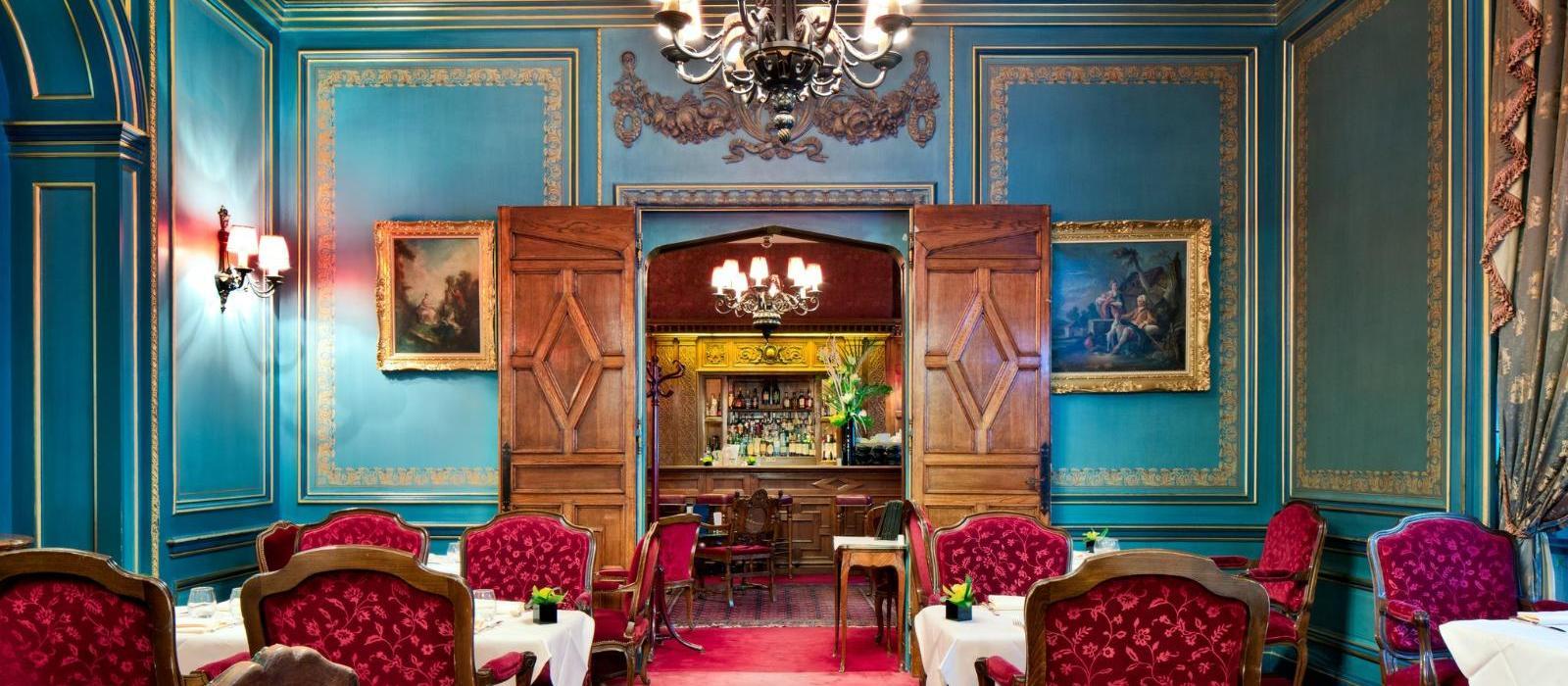 巴黎拉斐尔酒店(Hotel Raphael) 酒廊图片  www.lhw.cn