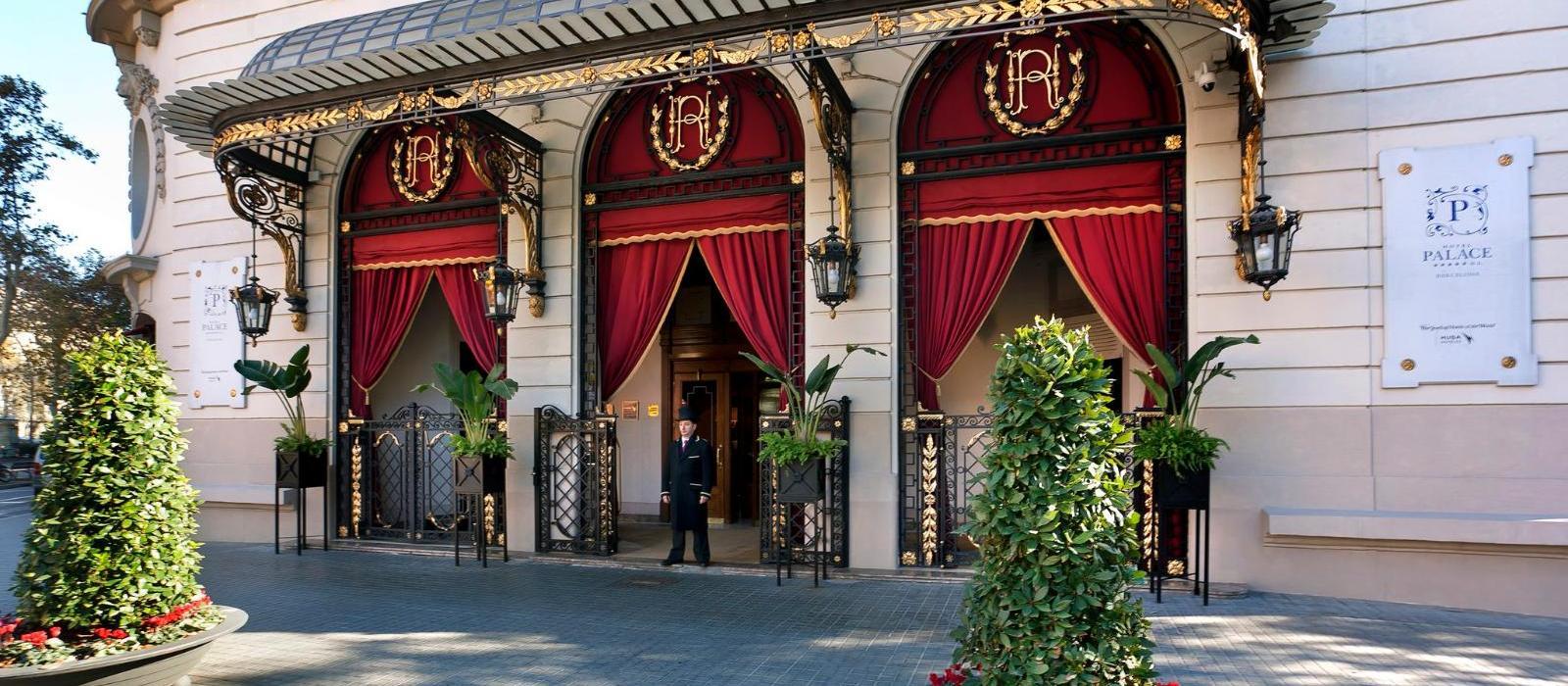 巴塞罗那皇宫酒店(El Palace Barcelona) 酒店外观图片  www.lhw.cn