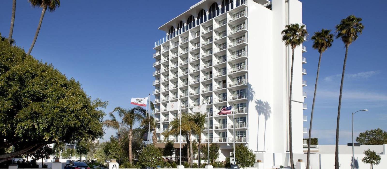 比佛利山庄C先生酒店(Mr. C Beverly Hills) 日间外景图片  www.lhw.cn