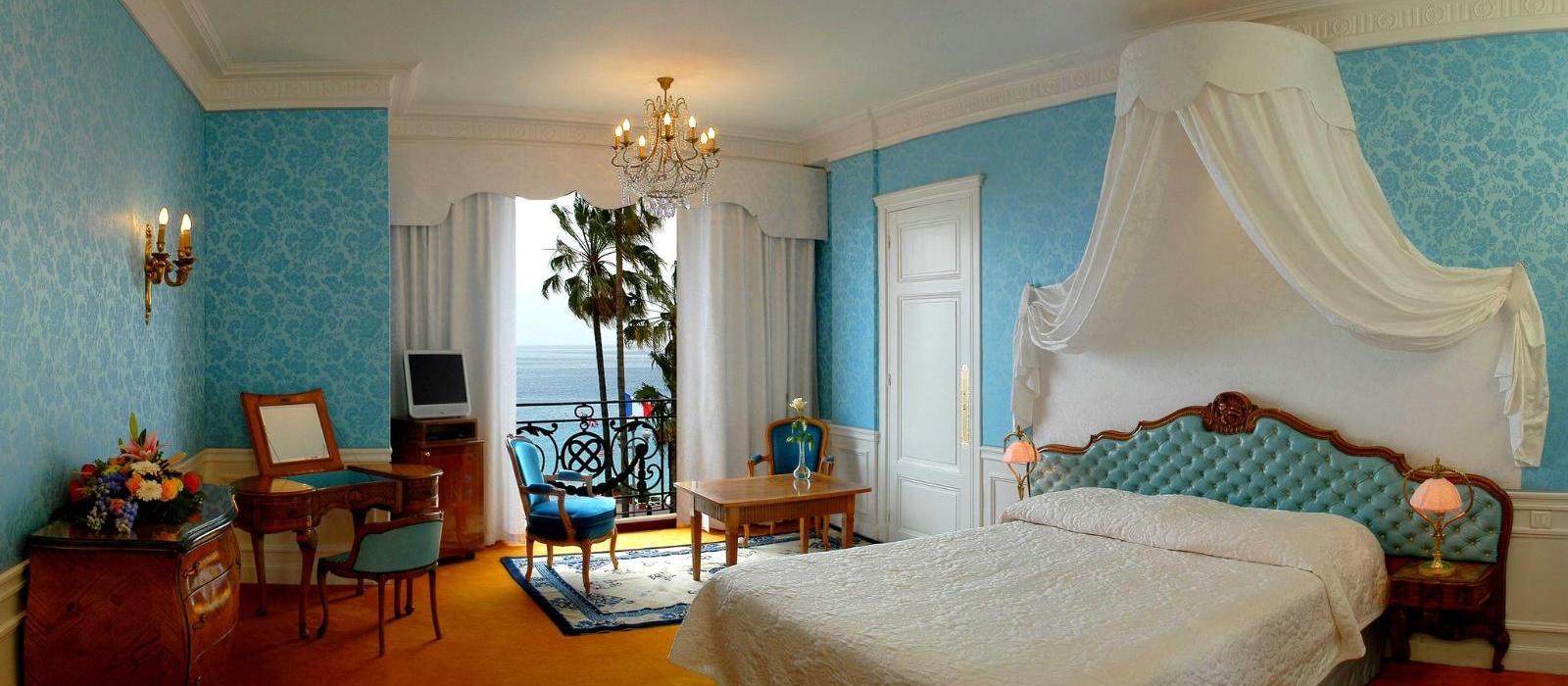 旎诗阁海滨酒店(Le Negresco) 豪华海景客房图片  www.lhw.cn