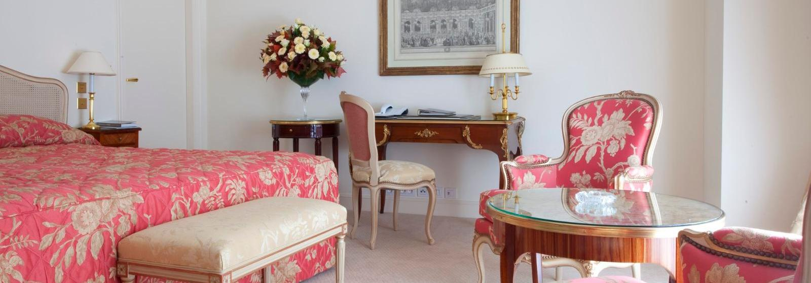 巴黎勒布里斯托酒店 - 欧特家酒店集团(Le Bristol Paris, Oetker Collection) 豪华客房图片  www.lhw.cn