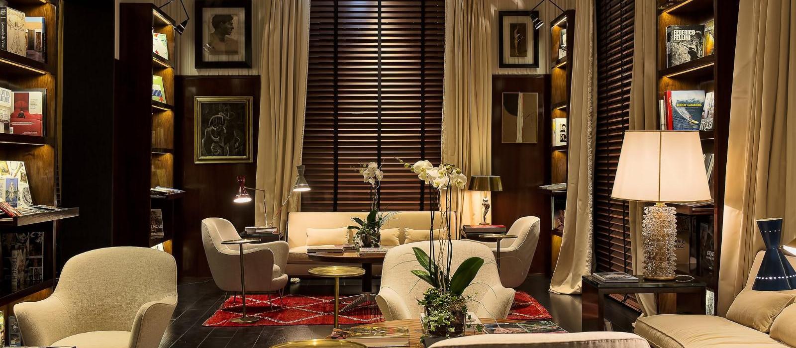 罗马锦凯酒店(J.K. Place Roma) 阅读区域图片  www.lhw.cn