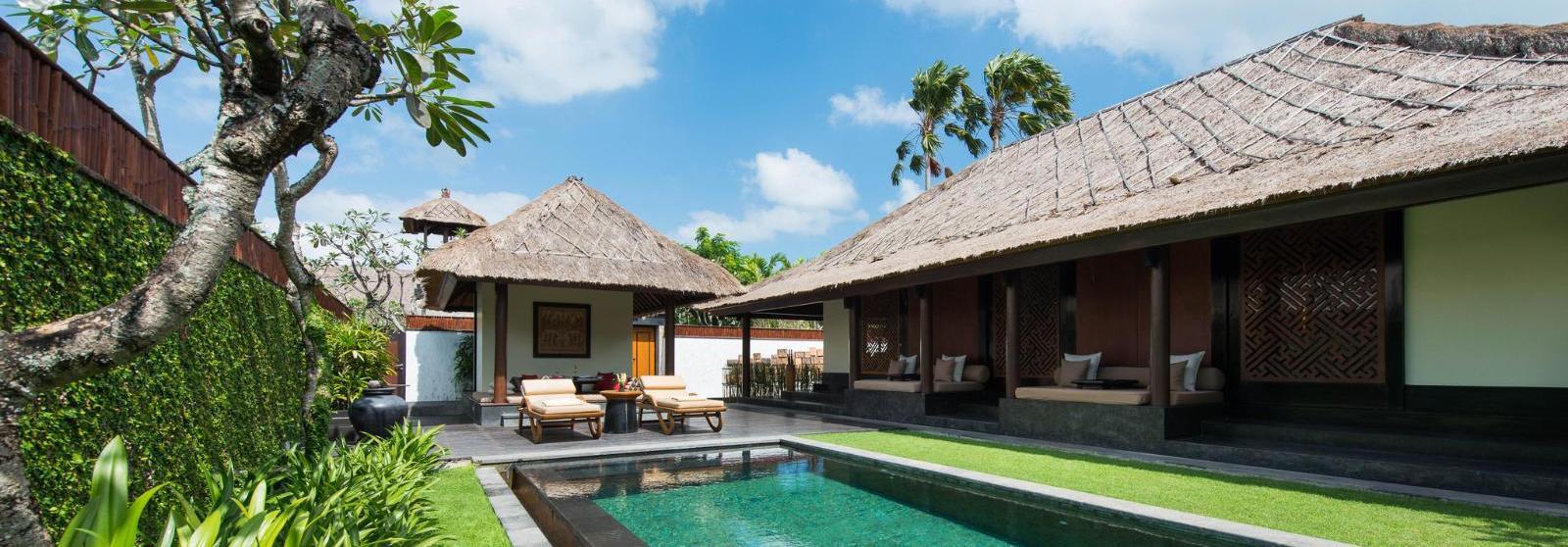 巴厘岛水明漾乐吉安度假酒店(The Legian Seminyak, Bali) 单卧套房泳池图片  www.lhw.cn