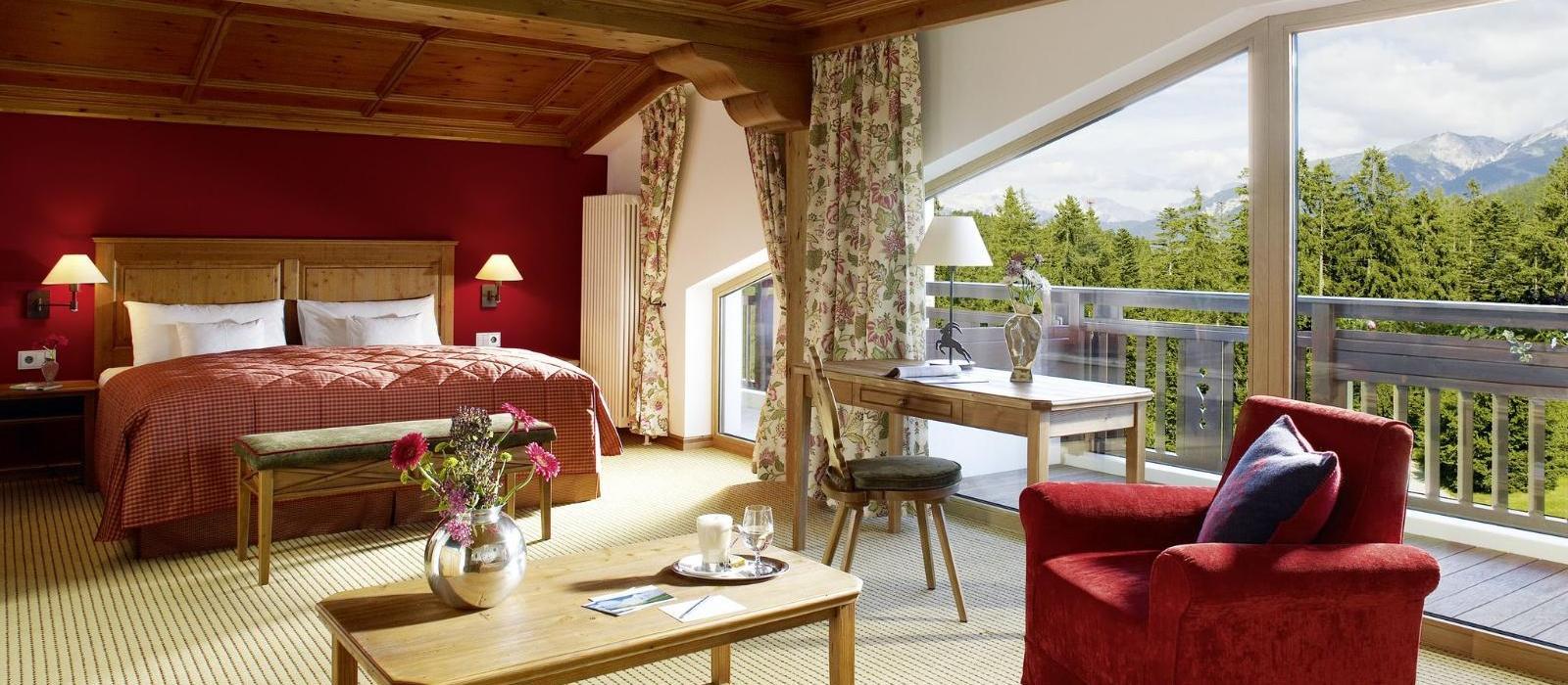 阿尔卑斯山蒂罗尔度假酒店(Interalpen-Hotel Tyrol) 套房图片  www.lhw.cn