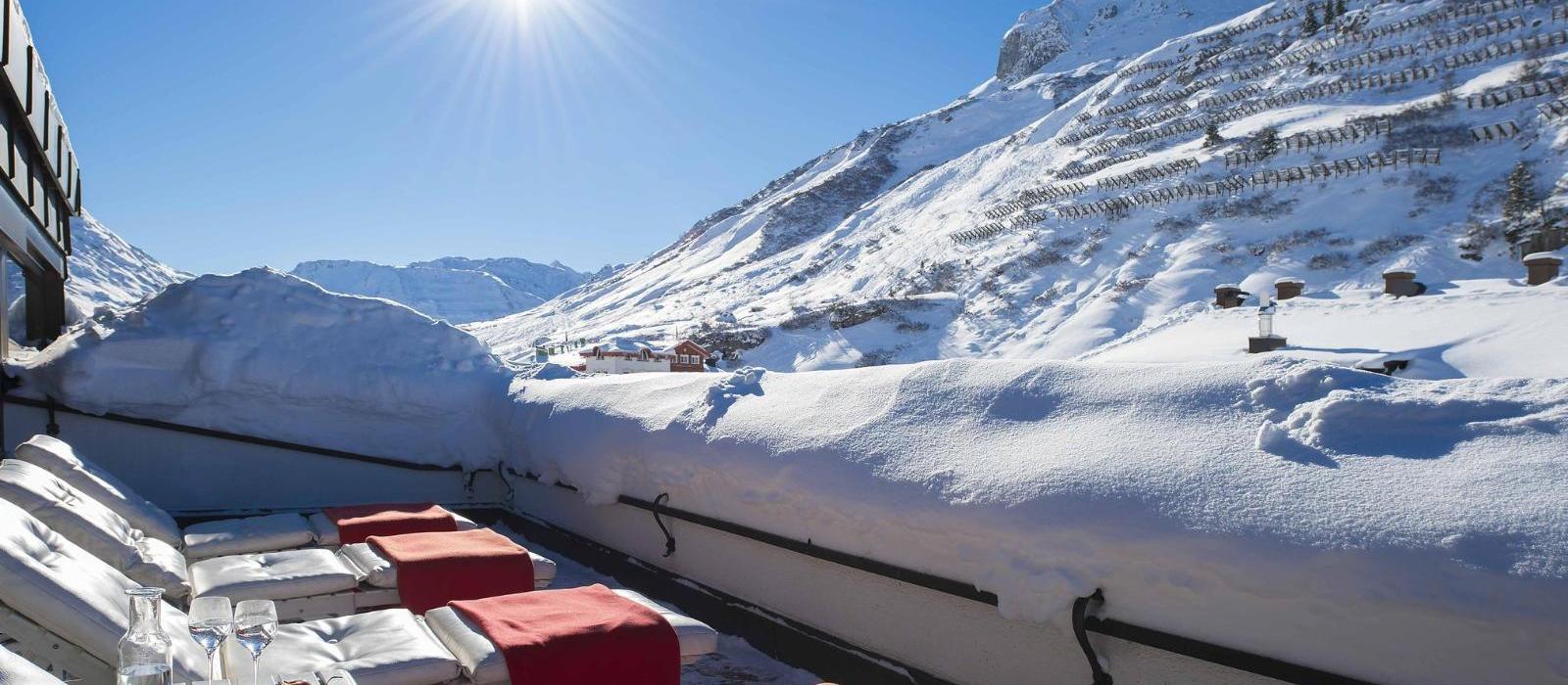 特赫阿尔班霍夫度假酒店(Thurnher's Alpenhof) 阳台图片  www.lhw.cn