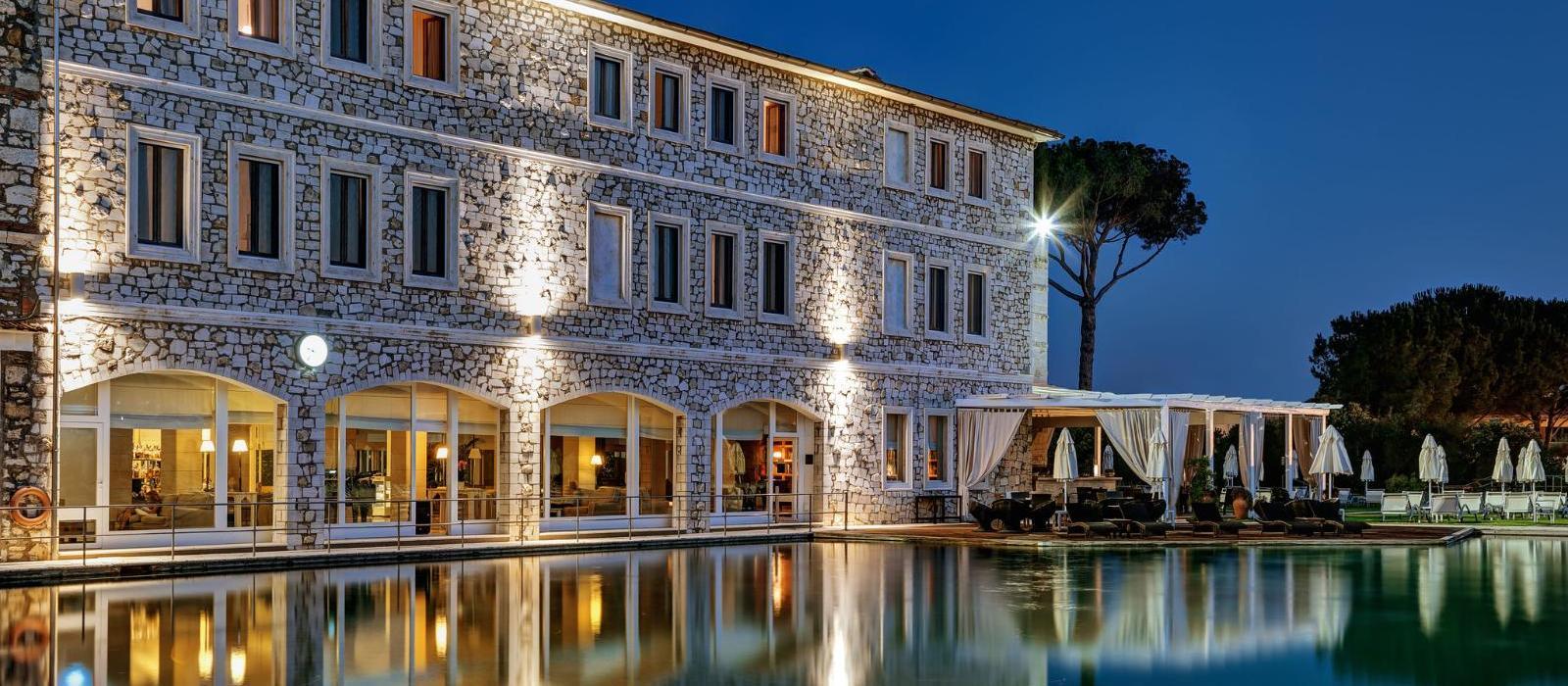 萨图尼亚温泉水疗高尔夫度假酒店(Terme di Saturnia Spa & Golf Resort) 图片  www.lhw.cn