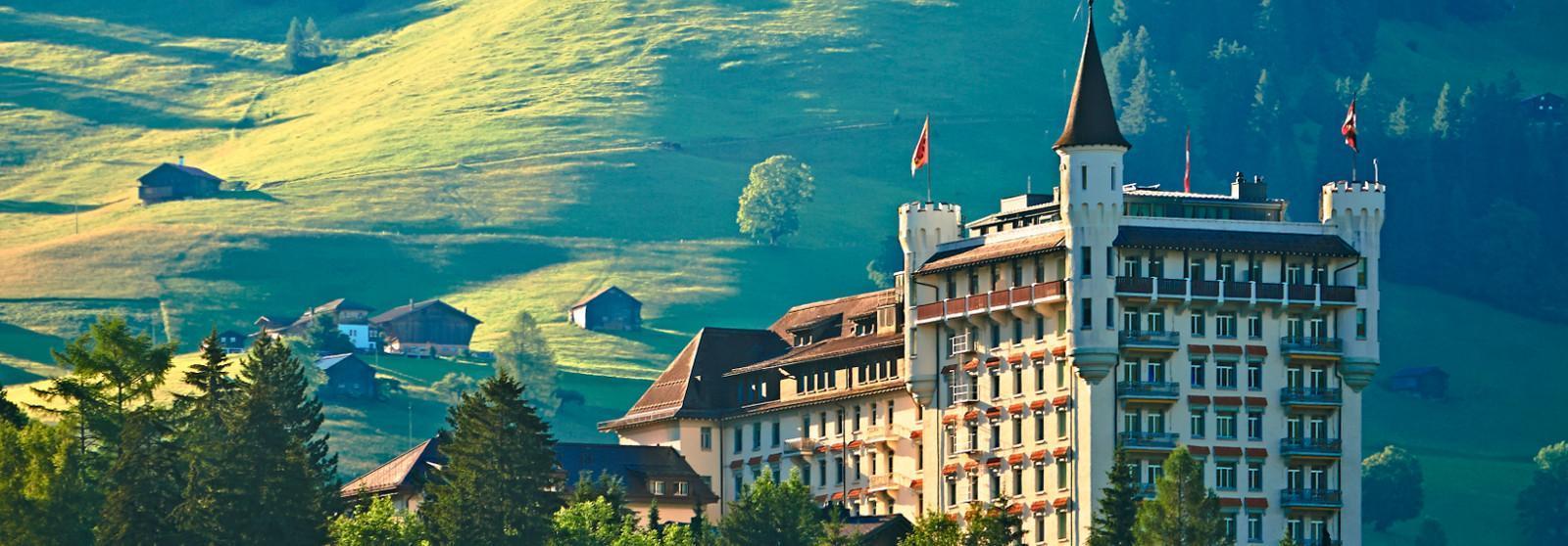 Gstaad Palace天然温泉水疗 酒店  www.lhw.cn