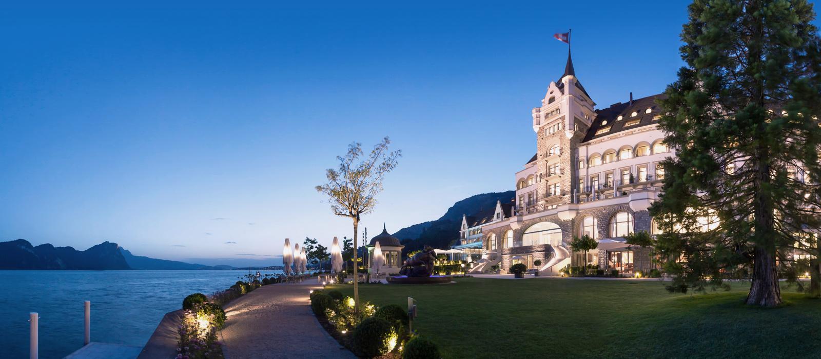 菲茨瑙公园酒店(Park Hotel Vitznau)【 菲茨瑙,瑞士】 酒店  www.lhw.cn