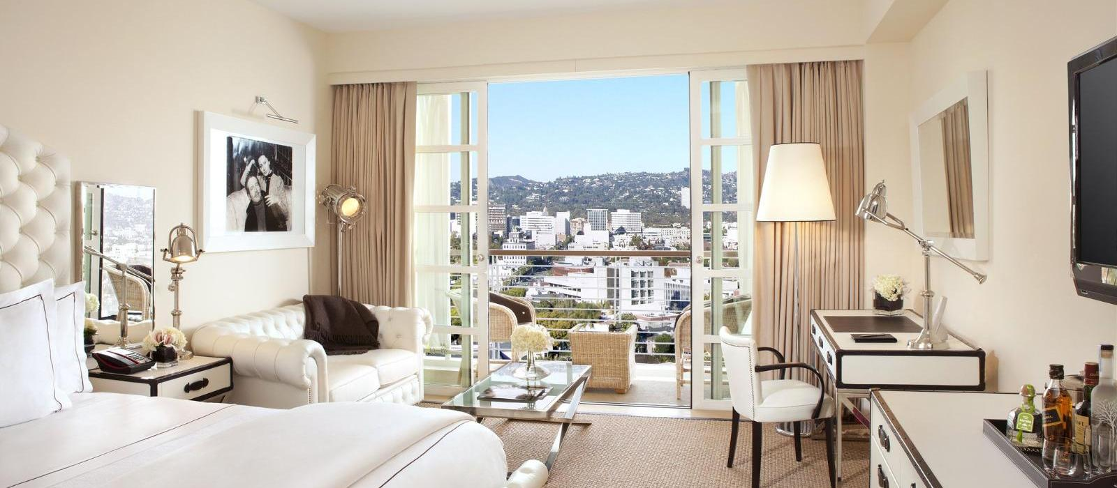 比佛利山庄C先生酒店(Mr. C Beverly Hills) 怀特主楼图片  www.lhw.cn