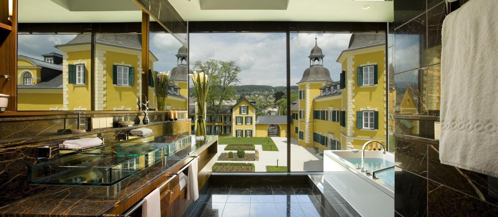 韦尔登弗肯斯坦纳城堡酒店(Falkensteiner Schlosshotel Velden) 浴室图片  www.lhw.cn