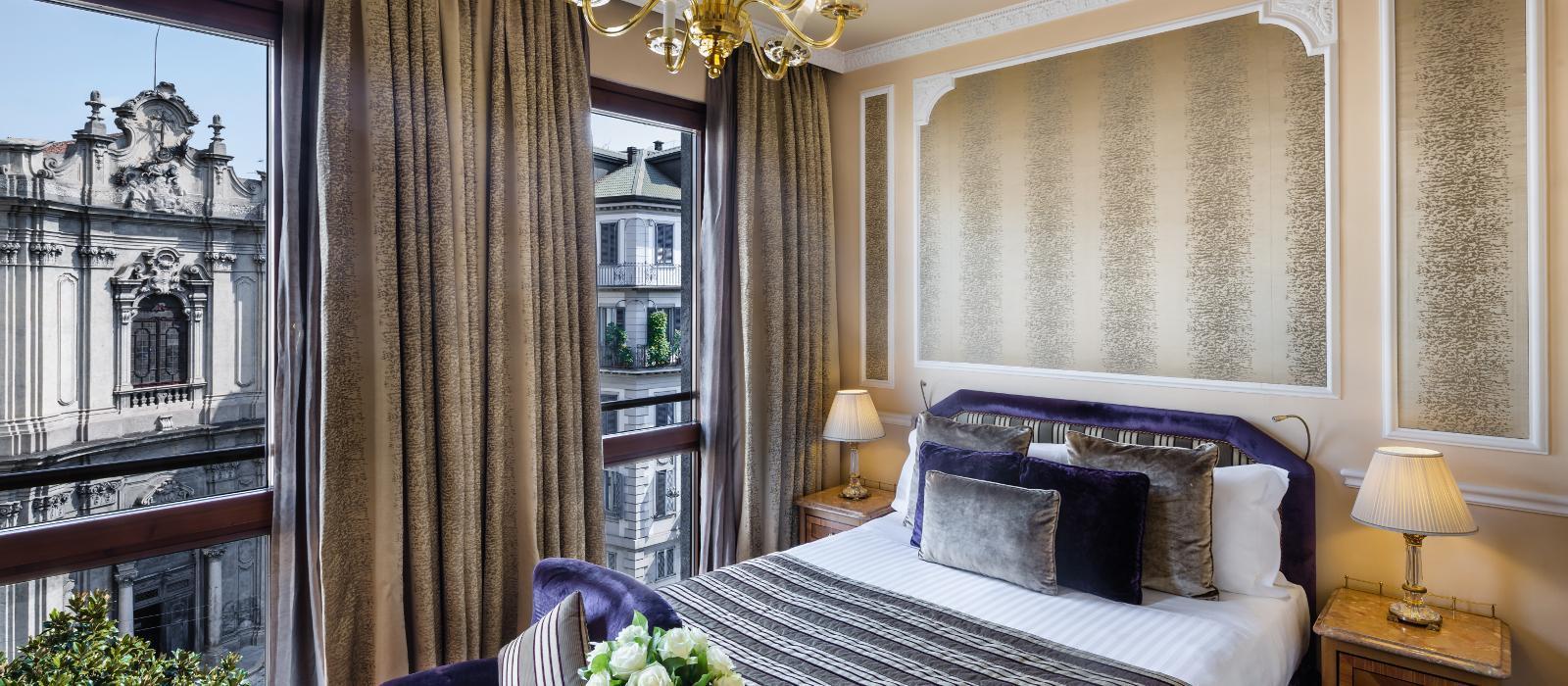 卡尔顿巴廖尼酒店(Baglioni Hotel Carlton)【 米兰,意大利】 酒店  www.lhw.cn