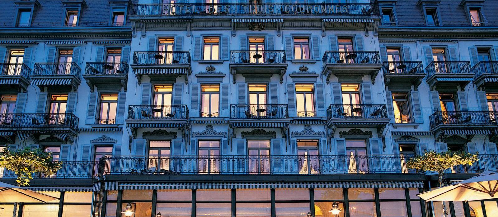 特罗伊古罗奈豪华水疗酒店(Hotel des Trois Couronnes & Destination Spa) 图片  www.lhw.cn