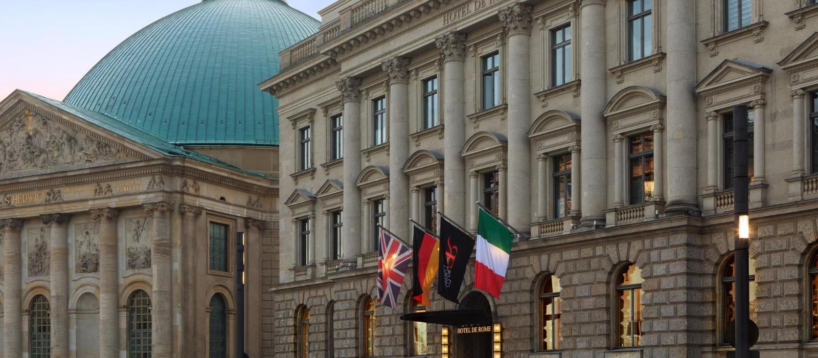 洛克福特罗马大酒店(Hotel de Rome, a Rocco Forte Hotel) 图片  www.lhw.cn