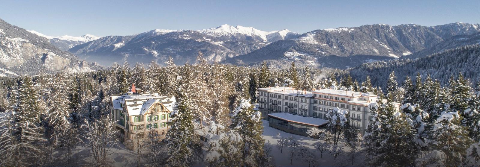 菲尔姆沃豪斯公园水疗酒店(Waldhaus Flims Hotel and Spa)【 弗利姆斯,瑞士】 酒店  www.lhw.cn