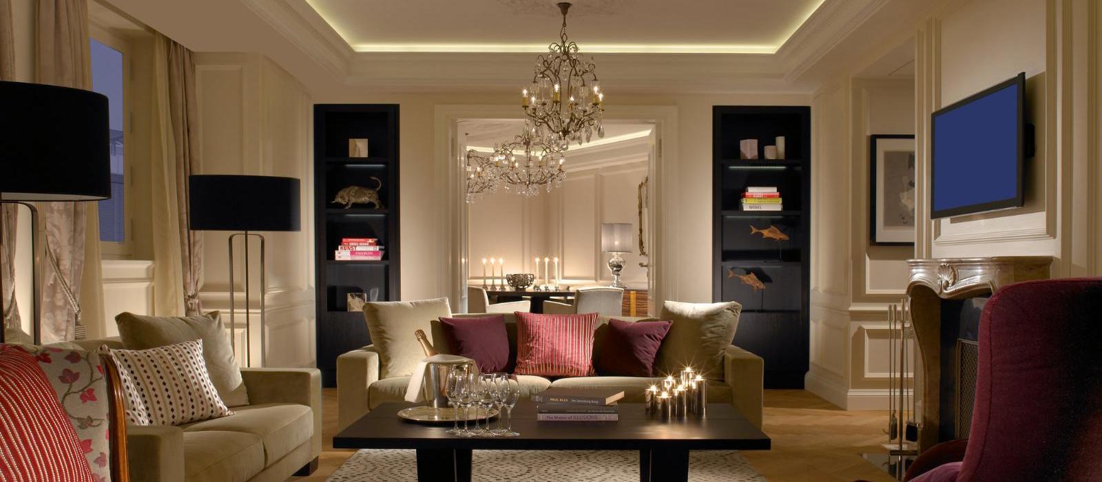 伯尔尼玺威豪酒店(Hotel Schweizerhof Bern & THE SPA) 总统套房图片  www.lhw.cn
