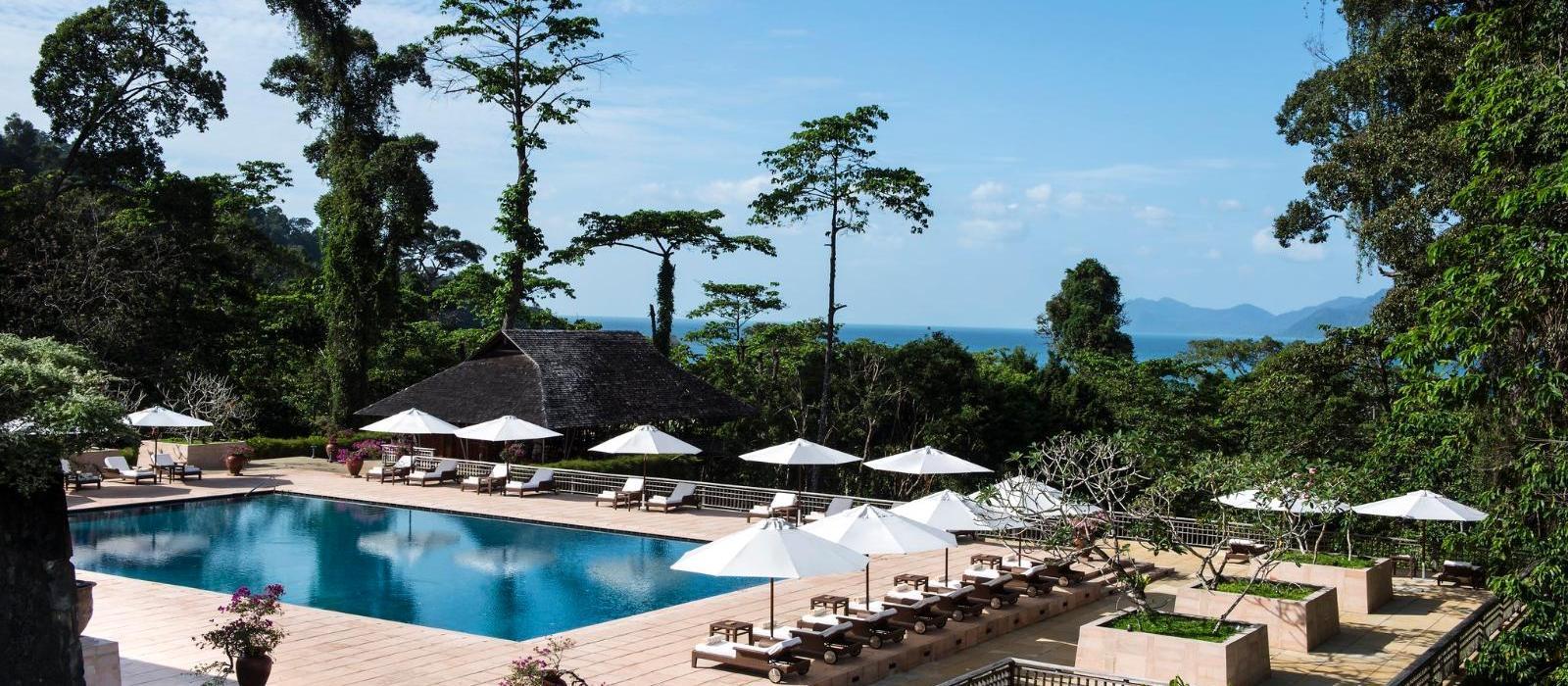 兰卡威达泰度假酒店(The Datai Langkawi) 主泳池图片  www.lhw.cn