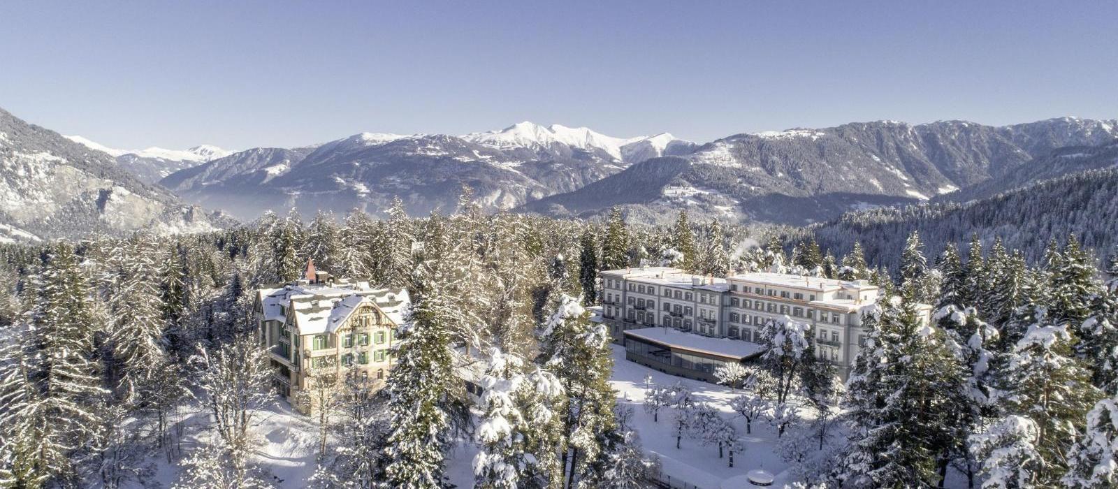 菲尔姆沃豪斯公园水疗酒店(Waldhaus Flims Alpine Grand Hotel & Spa) 图片  www.lhw.cn