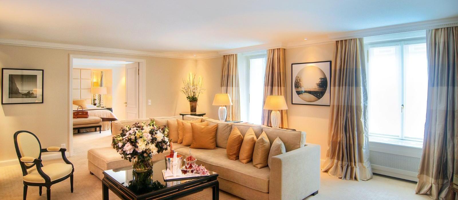 博安湖畔酒店(Baur Au Lac) 豪华河畔套房图片  www.lhw.cn