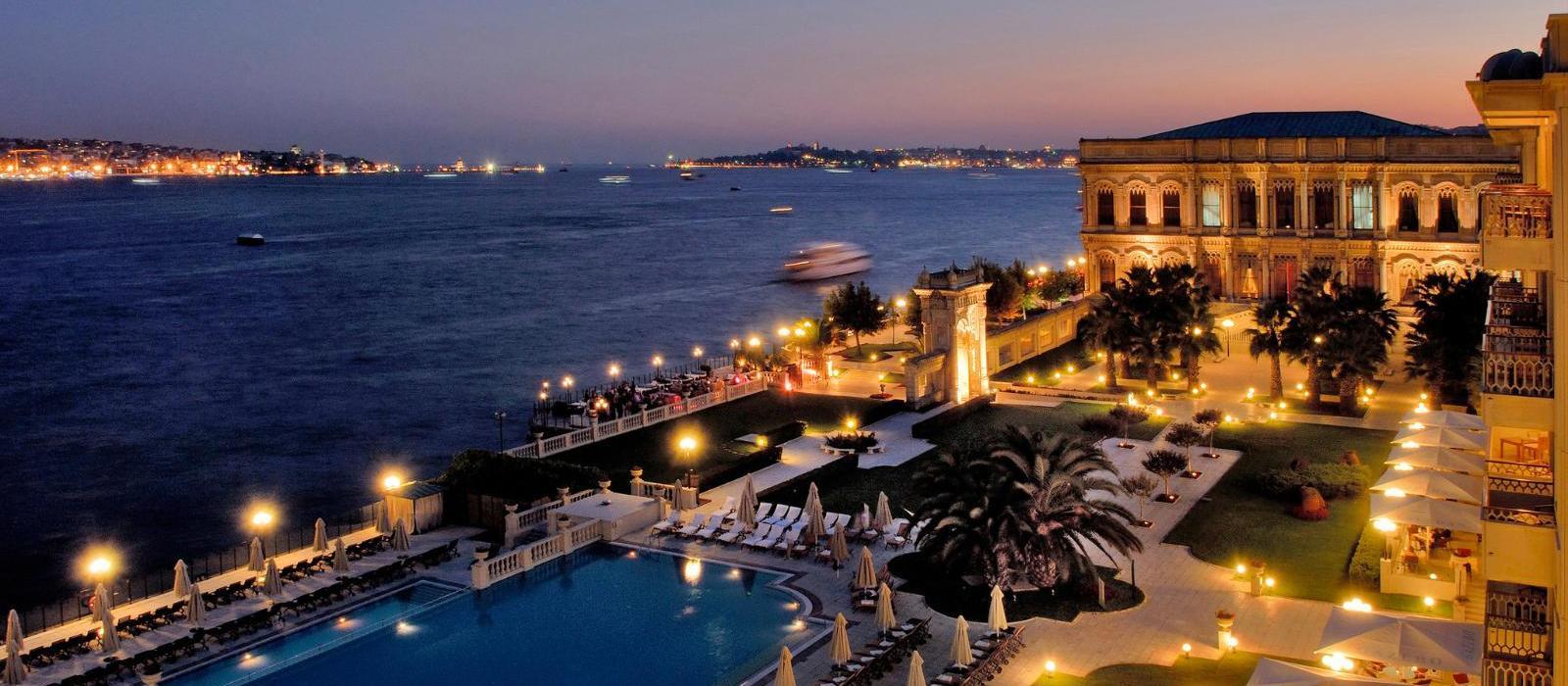 伊斯坦布尔塞拉皇宫凯宾斯基酒店(Ciragan Palace Kempinski Istanbul) 图片  www.lhw.cn