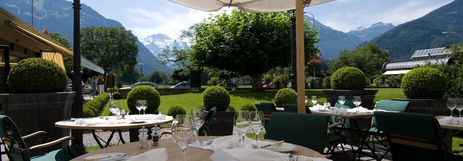 维多利亚少女峰山墅温泉酒店(Victoria-Jungfrau Grand Hotel and Spa) 餐厅图片  www.lhw.cn