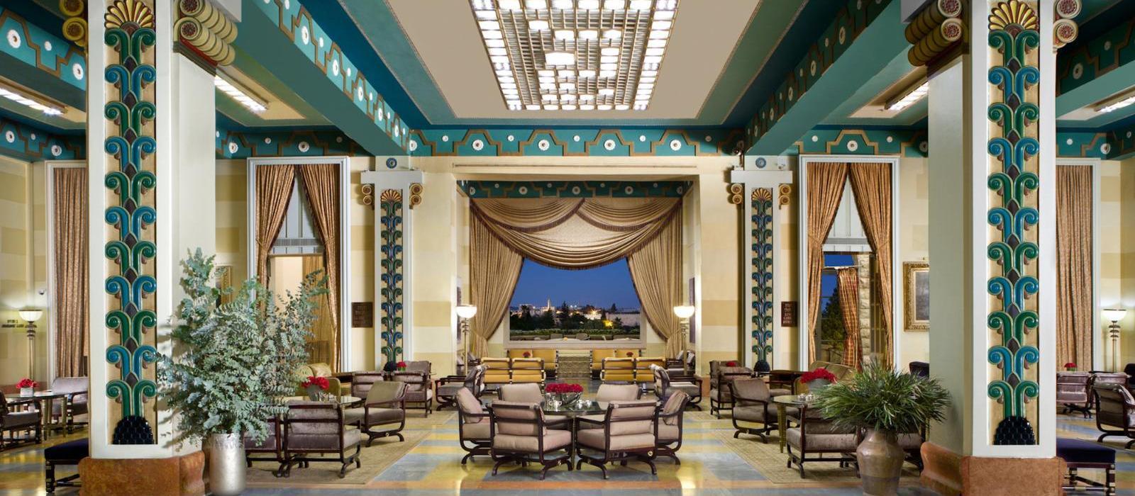 耶路撒冷大卫王豪华酒店(The King David) 图片  www.lhw.cn