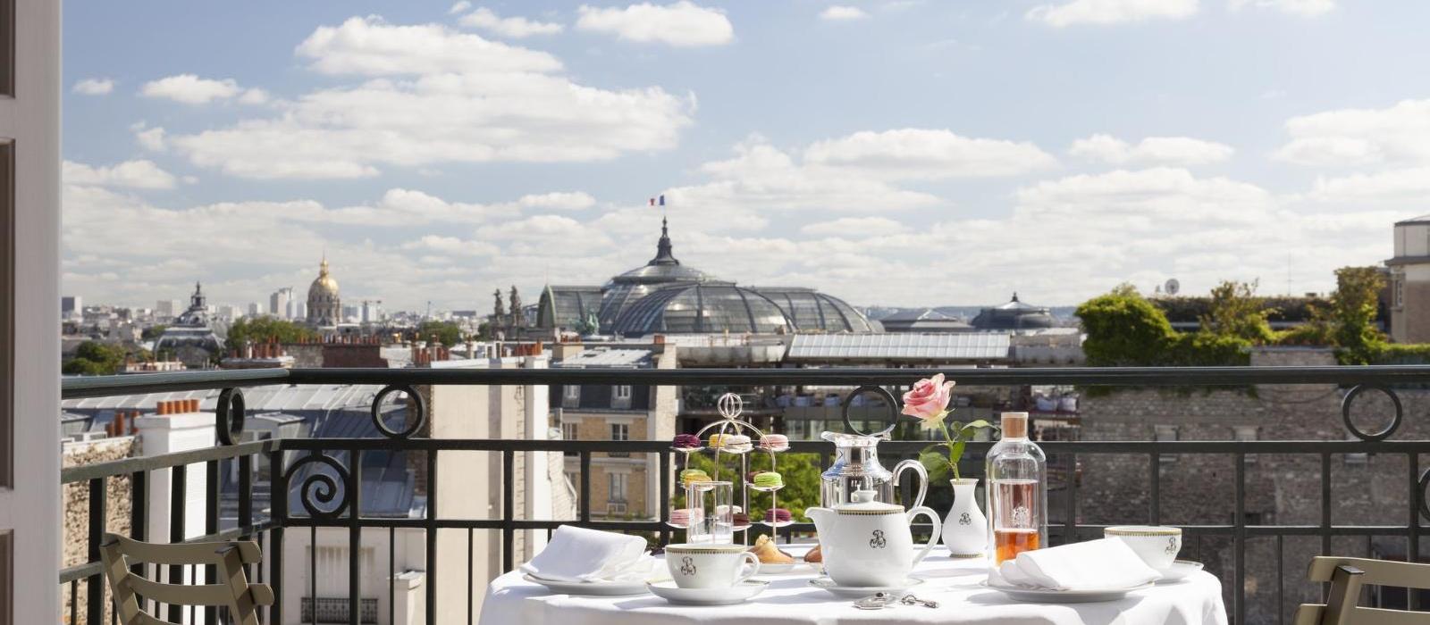 巴黎勒布里斯托酒店 - 欧特家酒店集团(Le Bristol Paris, Oetker Collection) 图片  www.lhw.cn