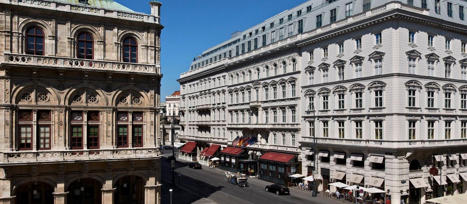 维也纳萨赫酒店(Hotel Sacher Wien) 日景外观图片  www.lhw.cn