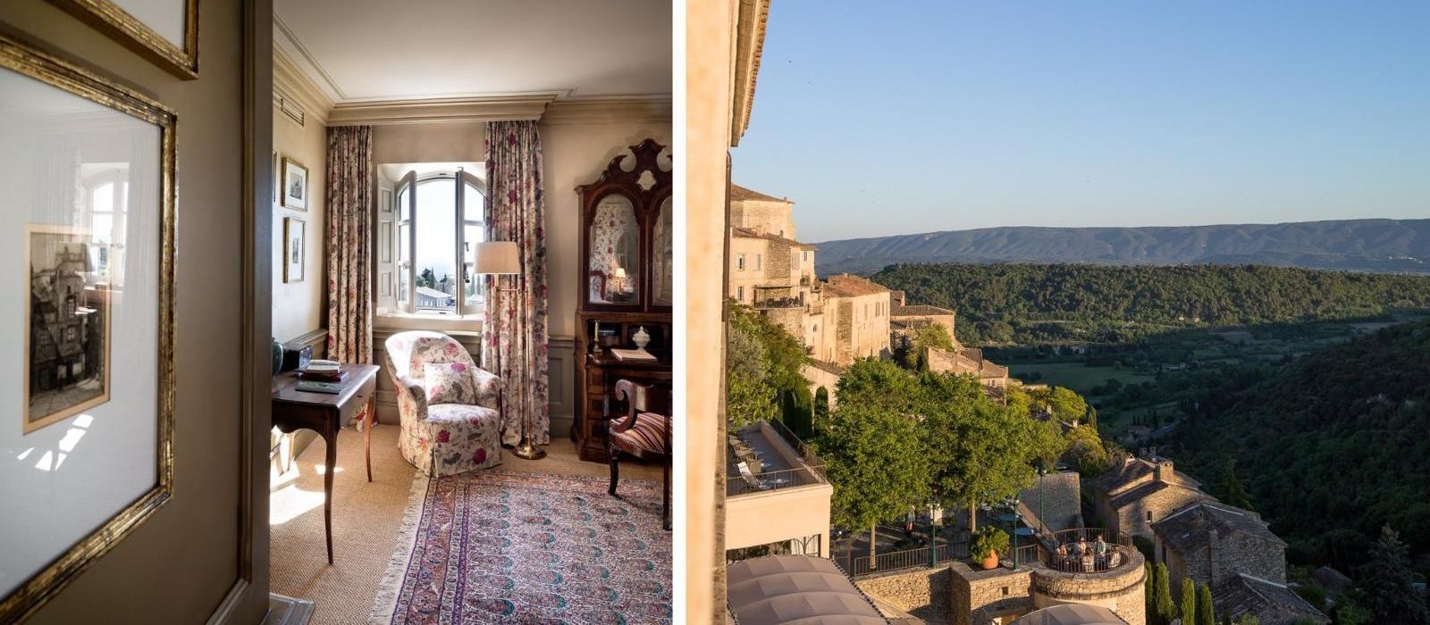 普罗旺斯戈尔德山庄酒店(La Bastide de Gordes) 图片  www.lhw.cn
