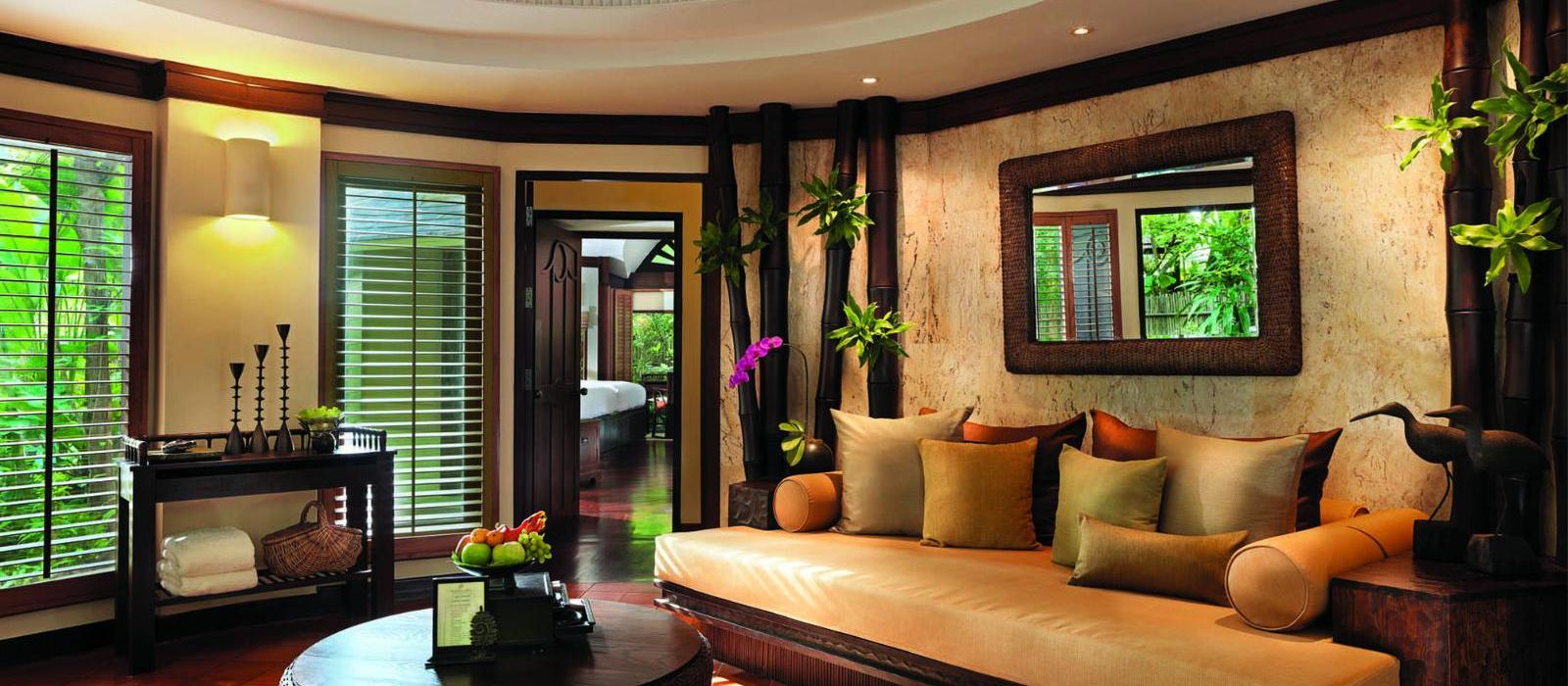 瑞亚维德度假酒店(Rayavadee) 家庭别墅起居室图片  www.lhw.cn