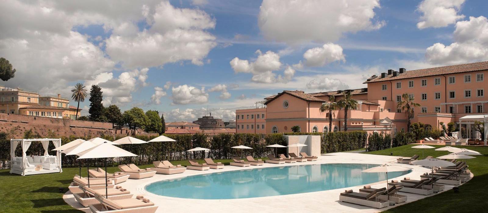 罗马梅丽亚阿格丽娉娜皇后别墅酒店(Gran Melia Rome Villa Agrippina) 图片  www.lhw.cn