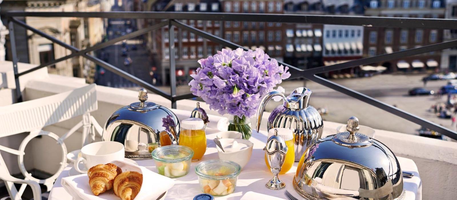 彤格乐豪华酒店(Hotel d'Angleterre) 早餐图片  www.lhw.cn