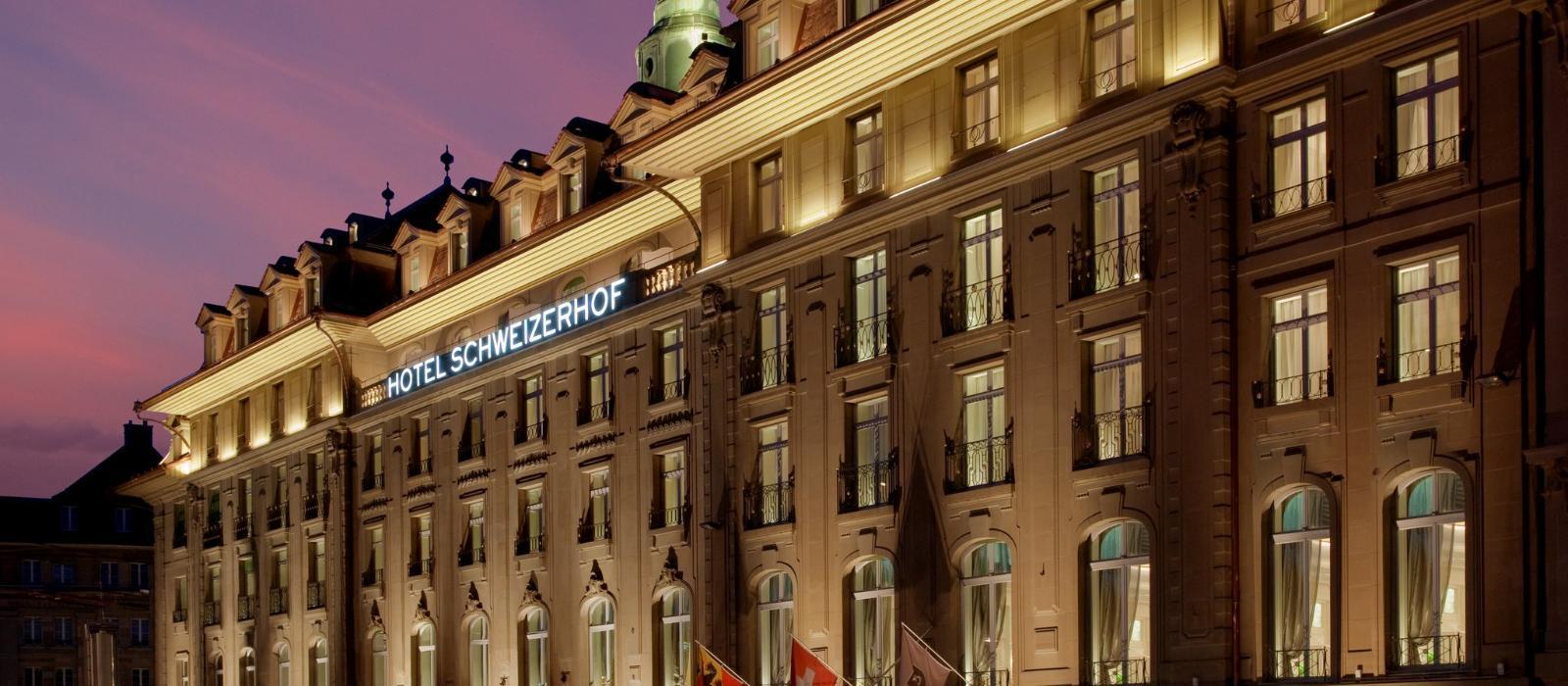 伯尔尼玺威豪酒店(Hotel Schweizerhof Bern & THE SPA) 酒店外观图片  www.lhw.cn
