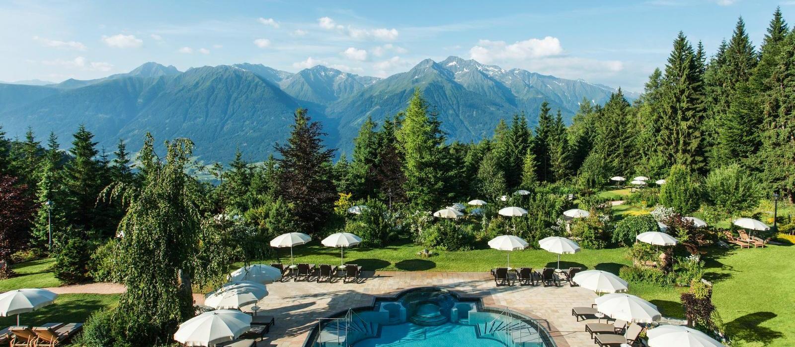 阿尔卑斯山蒂罗尔度假酒店(Interalpen-Hotel Tyrol) 泳池图片  www.lhw.cn