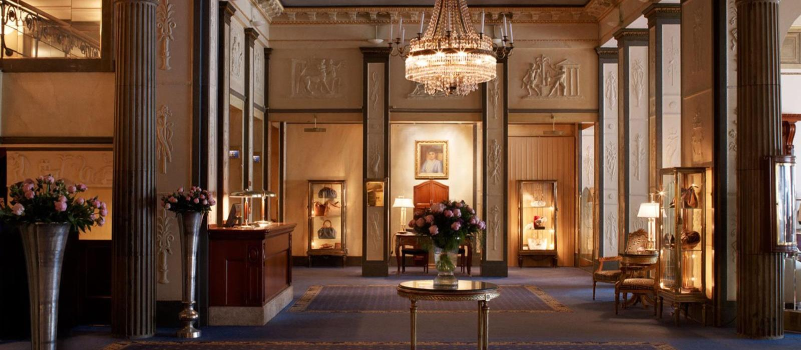 斯德哥尔摩大酒店(Grand Hotel Stockholm) 大堂图片  www.lhw.cn