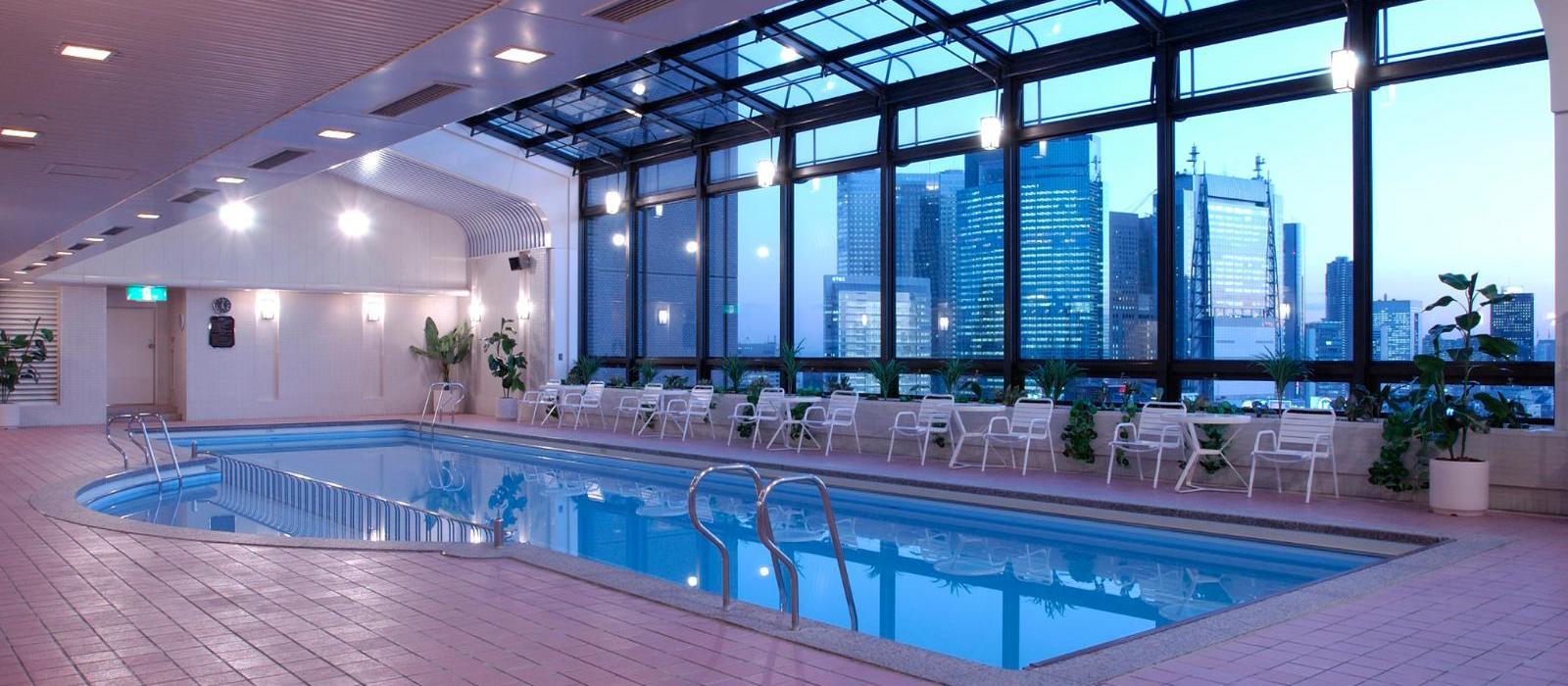 东京帝国酒店(Imperial Hotel Tokyo) 泳池图片  www.lhw.cn