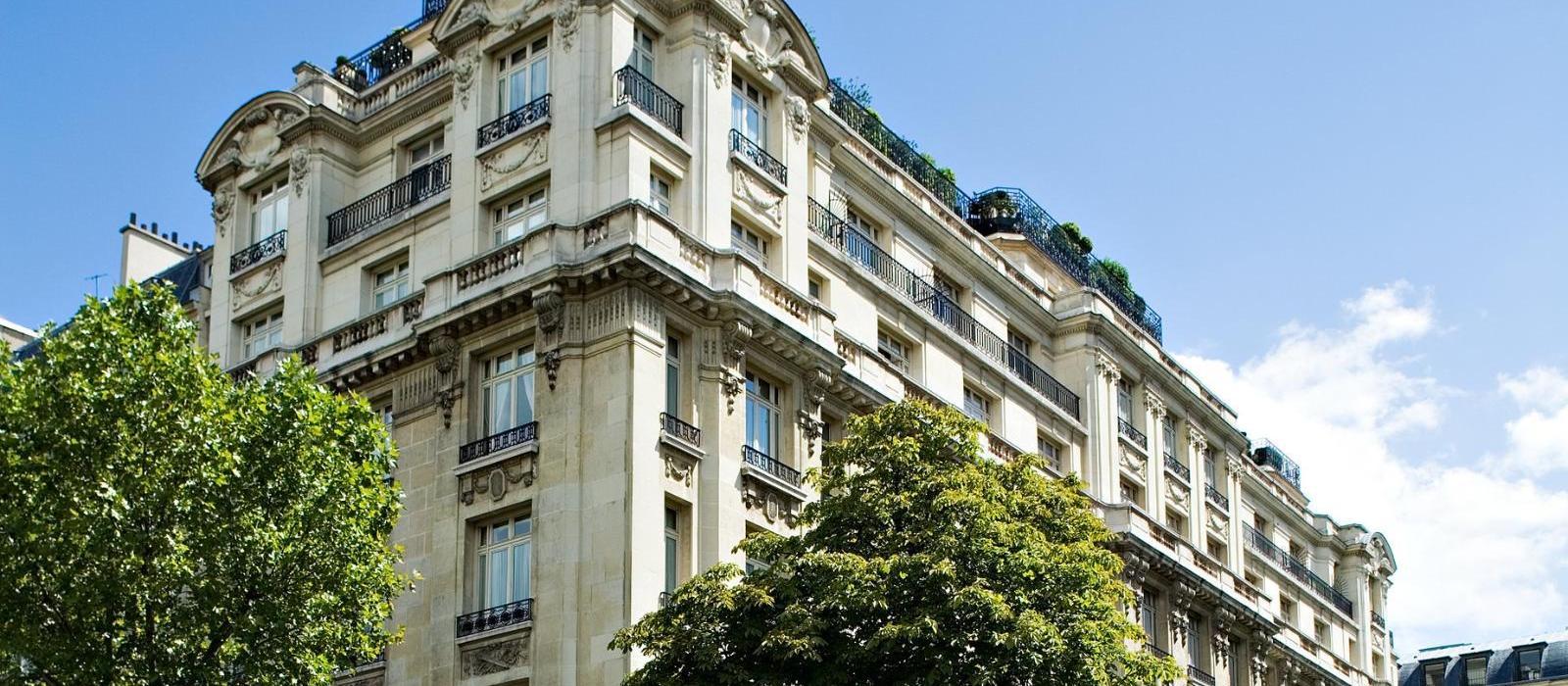 巴黎拉斐尔酒店(Hotel Raphael) 酒店外观图片  www.lhw.cn