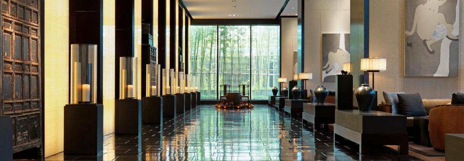 璞麗酒店(The PuLi Hotel and Spa) 大堂图片  www.lhw.cn