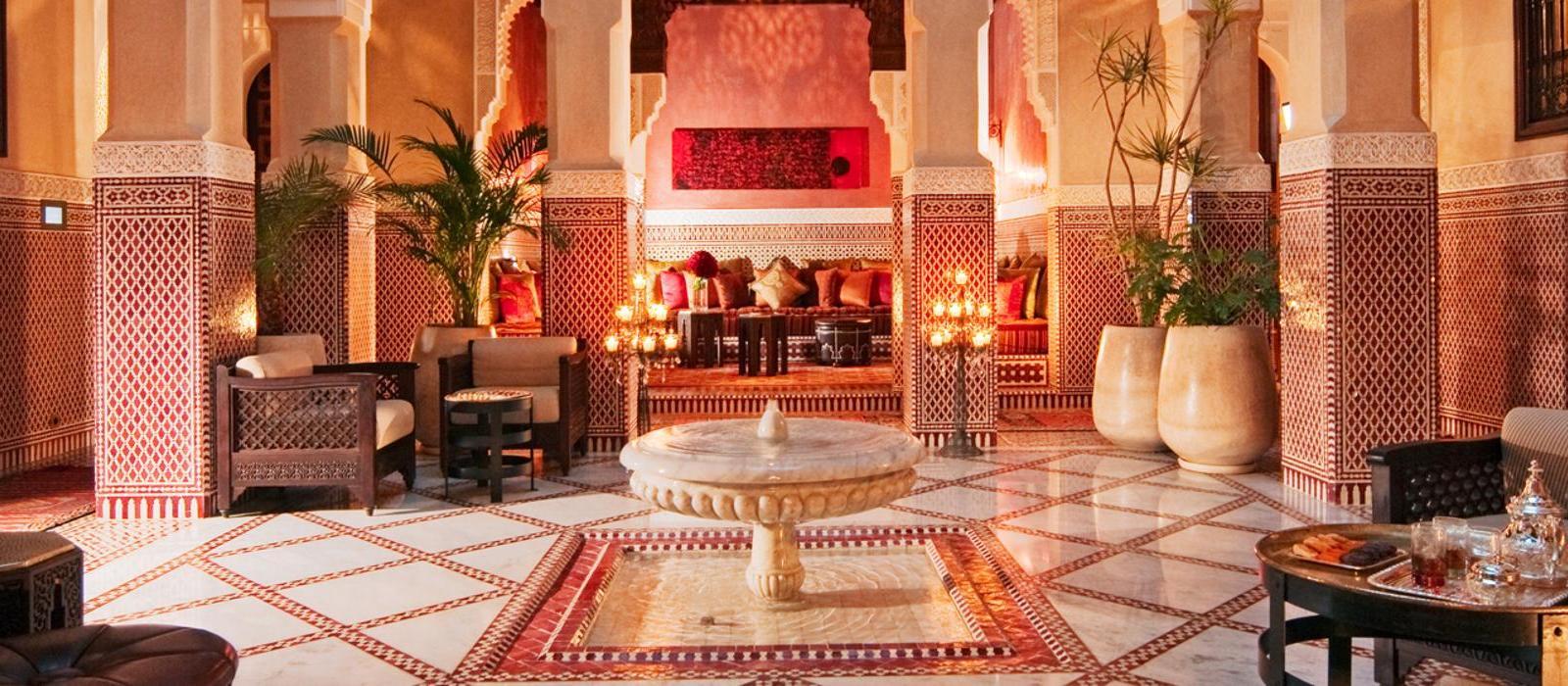 马拉喀什皇家曼苏尔酒店(Royal Mansour Marrakech) 图片  www.lhw.cn