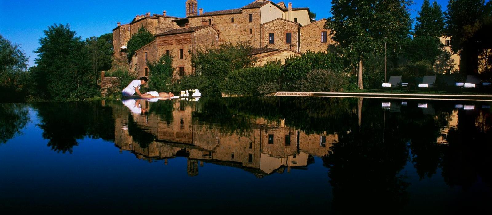 蒙娜斯特古堡酒店(Castel Monastero) 图片  www.lhw.cn
