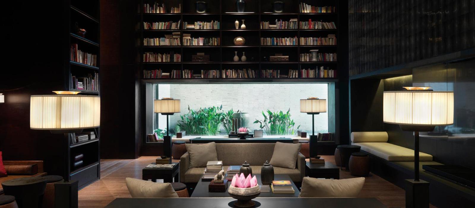 璞麗酒店(The PuLi Hotel and Spa) 书廊图片  www.lhw.cn