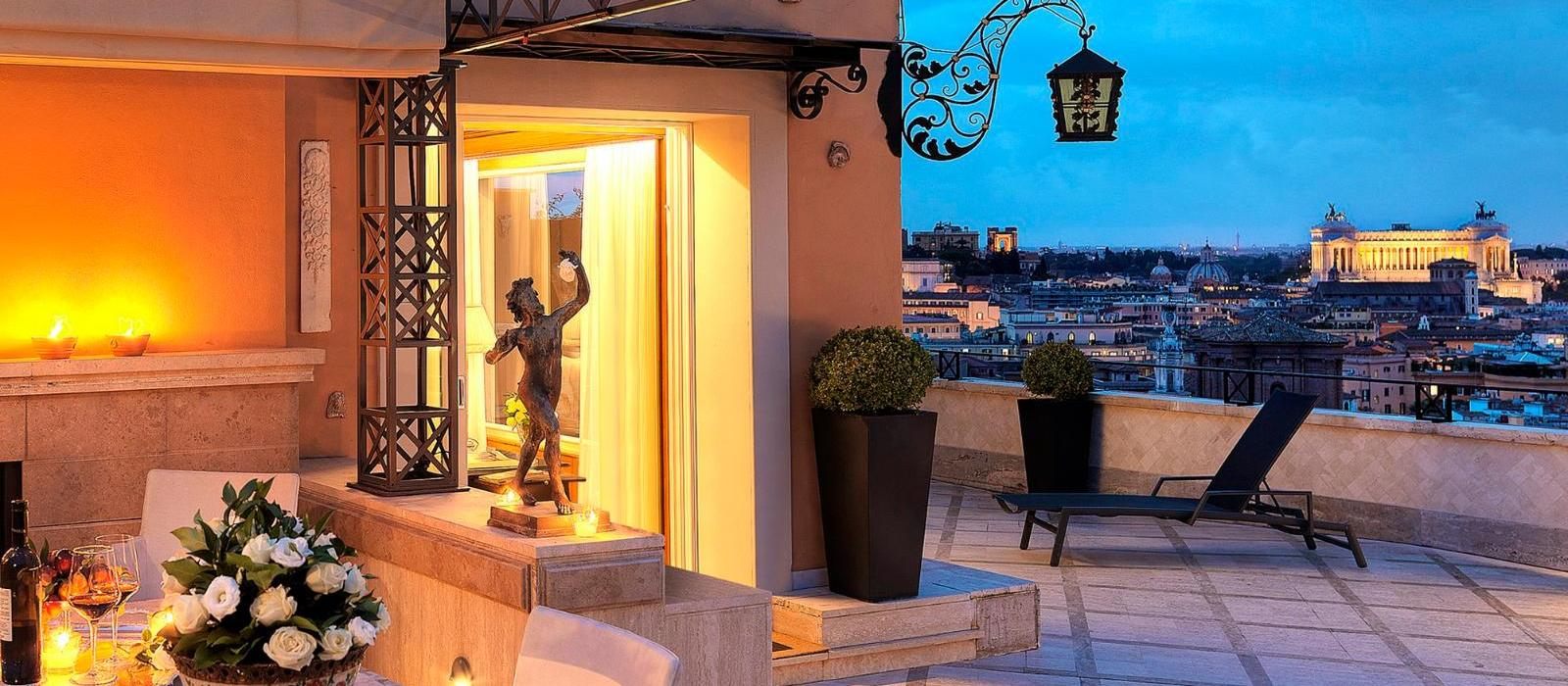 哈斯勒罗马酒店(Hassler Roma) 图片  www.lhw.cn
