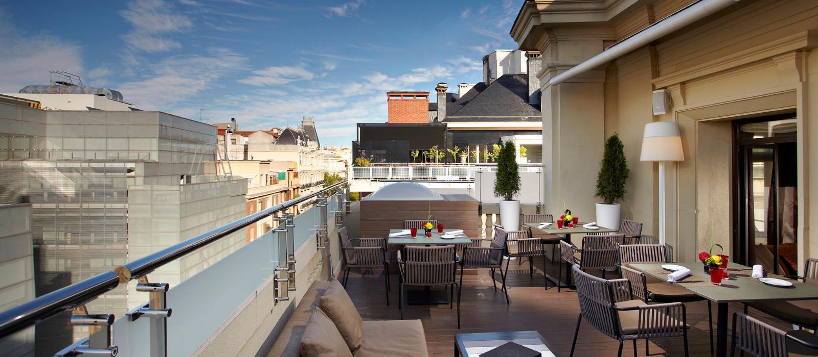 美利亚菲尼克斯大酒店(Hotel Fenix, a Gran Melia Hotel) 酒廊图片  www.lhw.cn