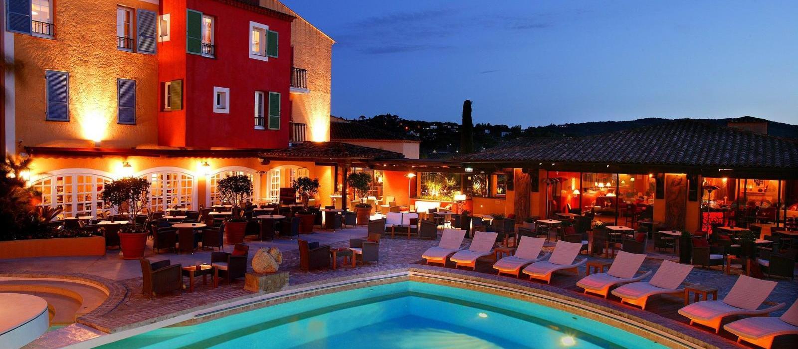 圣特罗佩碧珮乐思酒店(Hotel Byblos Saint-Tropez) B. 餐厅图片  www.lhw.cn
