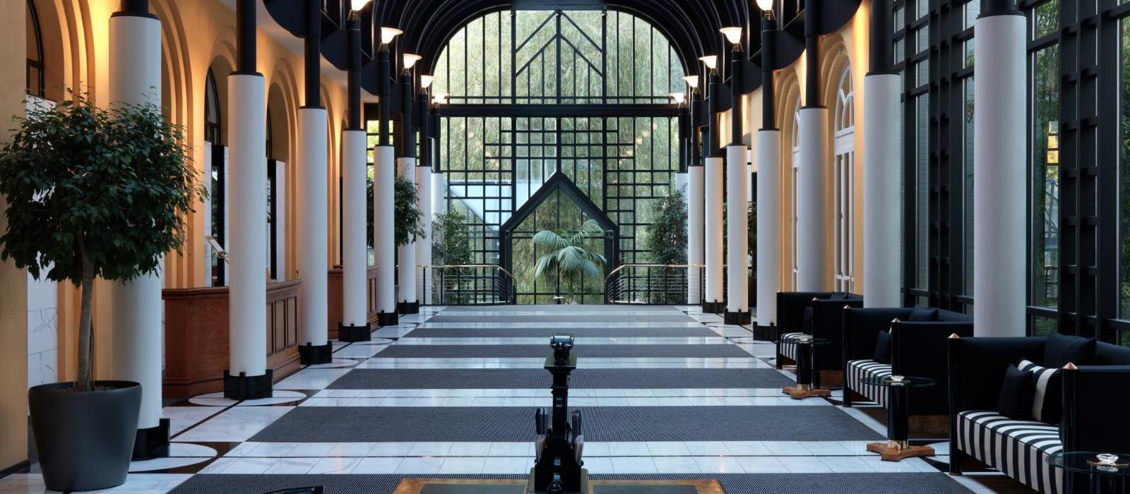 维多利亚少女峰山墅温泉酒店(Victoria-Jungfrau Grand Hotel & Spa) 大堂图片  www.lhw.cn