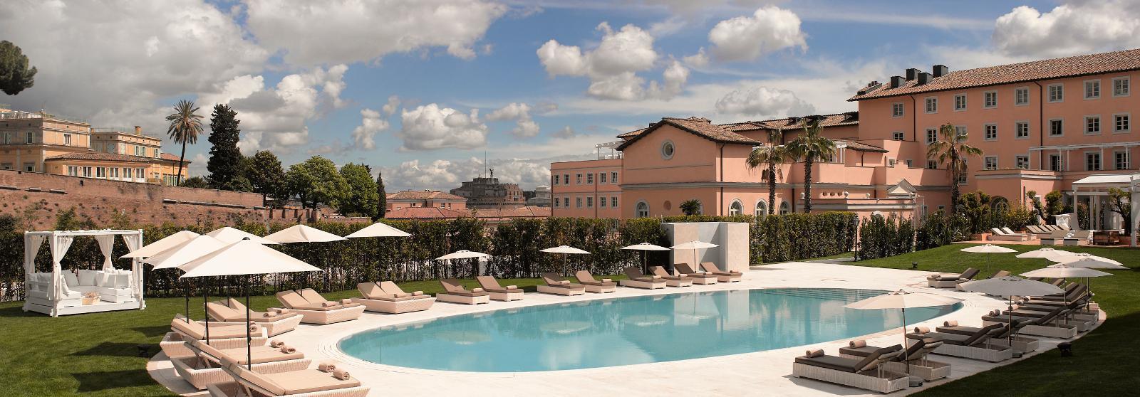 罗马梅丽亚阿格丽娉娜皇后别墅酒店(Gran Melia Rome Villa Agrippina)【 罗马,意大利】 酒店  www.lhw.cn