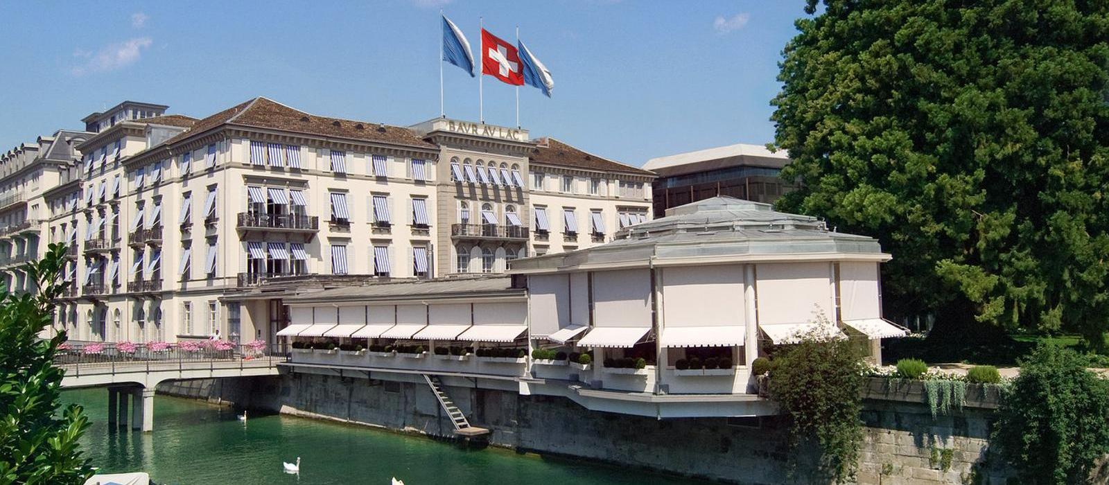 博安湖畔酒店(Baur au Lac) 酒店外观图片  www.lhw.cn