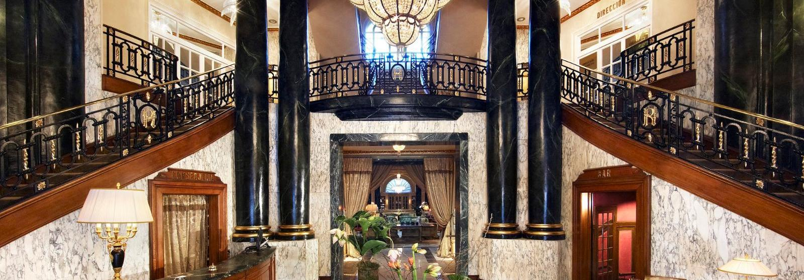 巴塞罗那皇宫酒店(El Palace Barcelona) 华丽内饰图片  www.lhw.cn