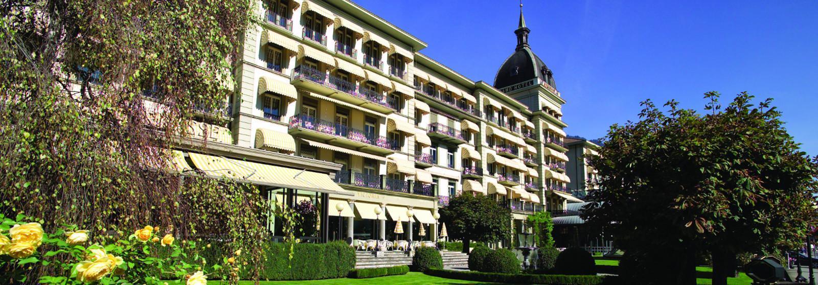 维多利亚少女峰山墅温泉酒店(Victoria-Jungfrau Grand Hotel and Spa) 酒店外观图片  www.lhw.cn