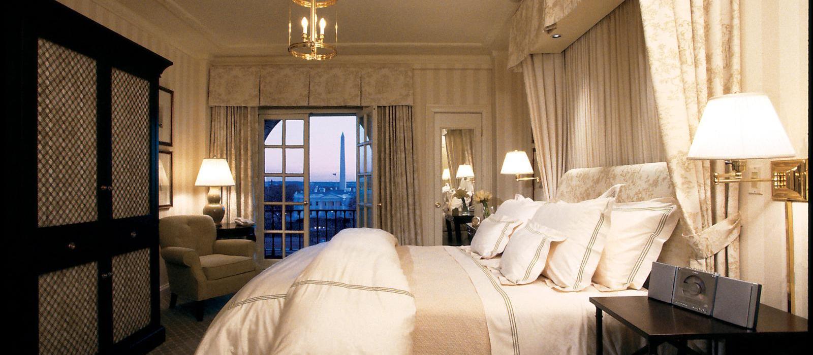 海亚当斯酒店(The Hay-Adams) 白宫景致标准客房图片  www.lhw.cn