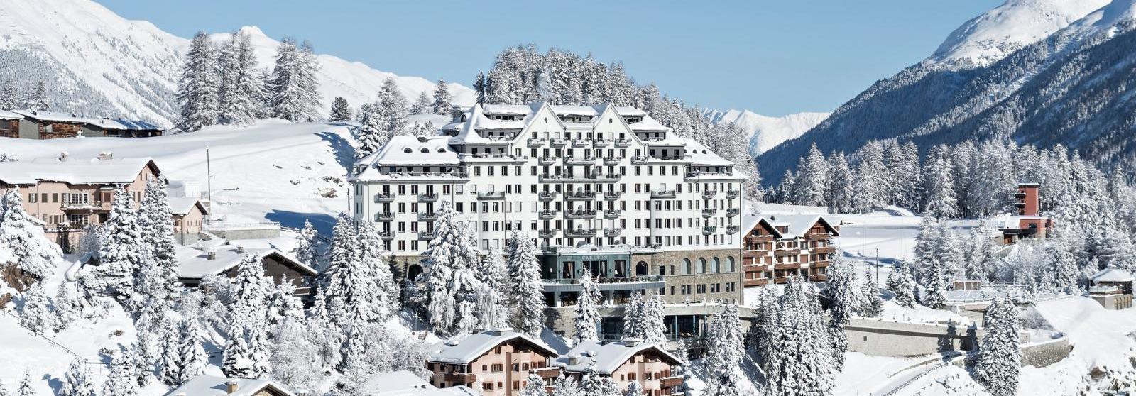 圣莫里茨卡尔顿酒店(Carlton Hotel St. Moritz) 酒店外观图片  www.lhw.cn